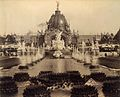 Fountain Coutan and the Central Dome, Paris Exposition, 1889.jpg