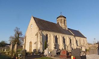 Cottun - The church in Cottun