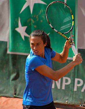 Francesca Schiavone - Francesca Schiavone at the 2015 French Open