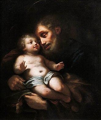 Francesco Conti (painter) - Image: Francesco Conti St Joseph with the Child
