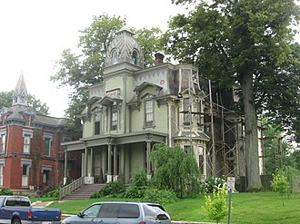 National Register of Historic Places listings in Clark County, Ohio - Image: Francis Bookwalter House