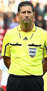 Frank De Bleeckere Belgian football referee