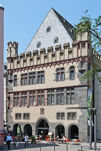 "Frankfurter Kunstverein - The museum in the ""Stone Building"""
