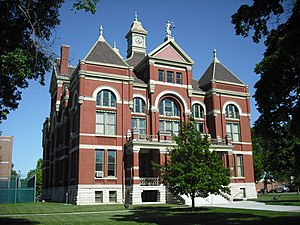 Ottawa, Kansas - Franklin County Courthouse (2009)
