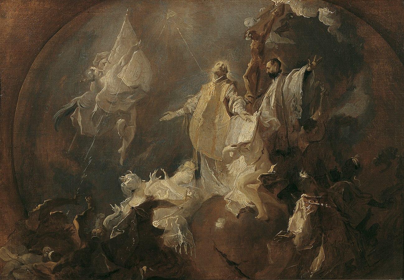 Allegorie auf die Weltmission des Jesuitenordens