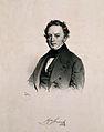 Franz Strauss. Lithograph by J. Kriehuber, 1842. Wellcome V0005642.jpg