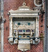 Frari (Venice) nave left - Monument to Jacopo Pesaro 1524.jpg