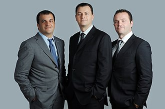 Mouawad - Image: Fred, Alain and Pascal Mouawad
