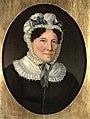 Frederik Petersen - Kunstnerens hustru Sigrid, f. Bjerke - Portrait of the Artist's Wife Sigrid, b. Bjerke - ca. 1815-1820.jpg