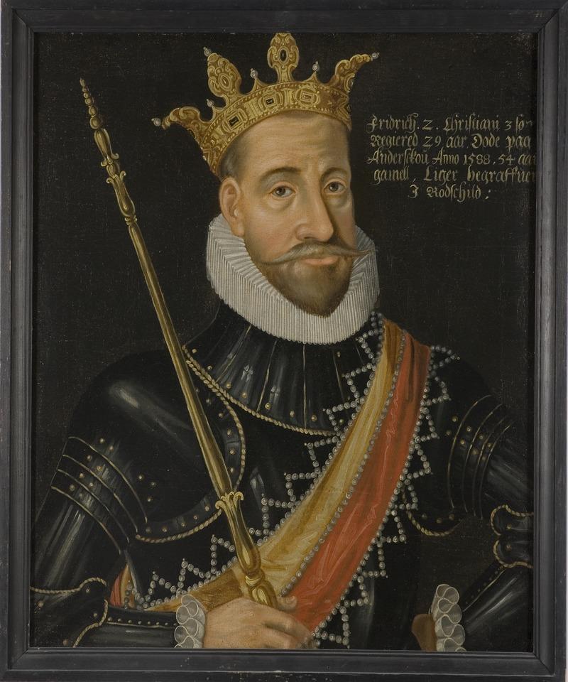 Fredrik II, 1534-88, konung av Danmark och Norge - Nationalmuseum - 14757.tif
