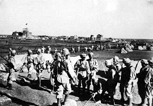 Izz ad-Din al-Qassam - The French Army occupying the Syrian coast, 1920