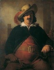 Der Landschaftsmaler Ignaz Raffalt als Falstaff
