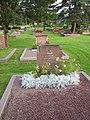 Frithiof Hedvalls familjegrav på Kvibergs kyrkogård i Göteborg, den 7 september 2005..JPG