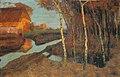 Fritz Overbeck Abend im Moor c1895-1896.jpg