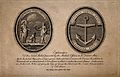 Front and reverse of a medal presented to Jenner by naval me Wellcome V0016681.jpg