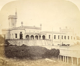 Hosur - Image: Front view of Mr Brett's house at Hosur, near Bangalore