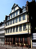 Front view of the Goethe House in Frankfurt am Main.JPG
