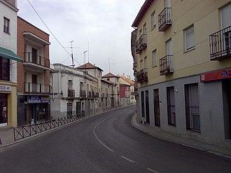 Fuencarral - Image: Fuencarral calle valverde