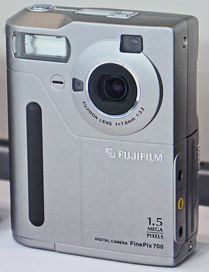 Fujifilm FinePix - Fujifilm FinePix MX-700, the first camera of the FinePix series, released in 1998.