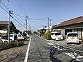 Fukuoka Prefectural Road No.140 in front of Zendoji Station.jpg