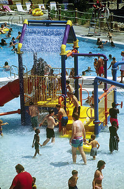 Full Blast Water Park play area