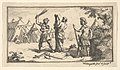 Fustigatio (John Beaver, Roman Military Punishments, 1725) MET DP824581.jpg