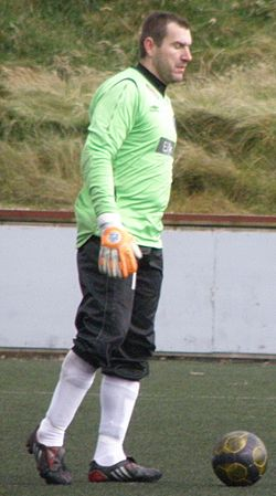 Géza Turi Tamaz a Hungarian Goalkeeper, now playing in the Faroe Islands.jpg
