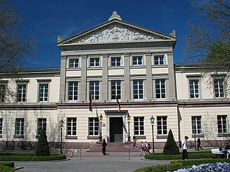 University of Göttingen - Alte Aula (Great Hall), also Karzer, at Wilhelmsplatz (built in 1835–1837)
