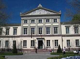 University of Göttingen - Alte Aula (Great Hall), also Karzer, at Wilhelmsplatz (built in 1835–1837)