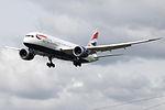 G-ZBJA Boeing 787 British Airways (14600894490).jpg