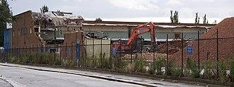 Tottenham Hale - Image: GLA demolition