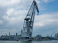 Floating crane Griep