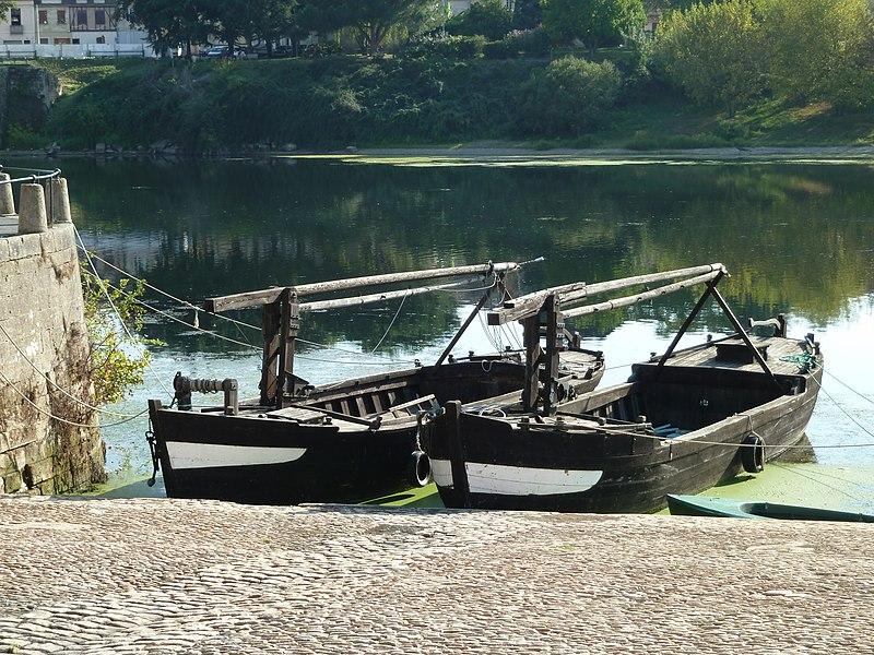 Gabares à Bergerac