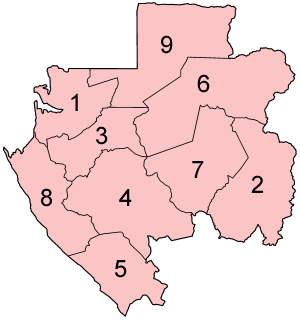 Subdivisions of Gabon - Provinces of Gabon