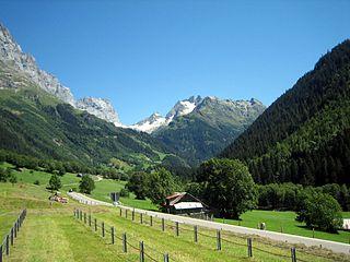 Gadmen Former municipality of Switzerland in Bern