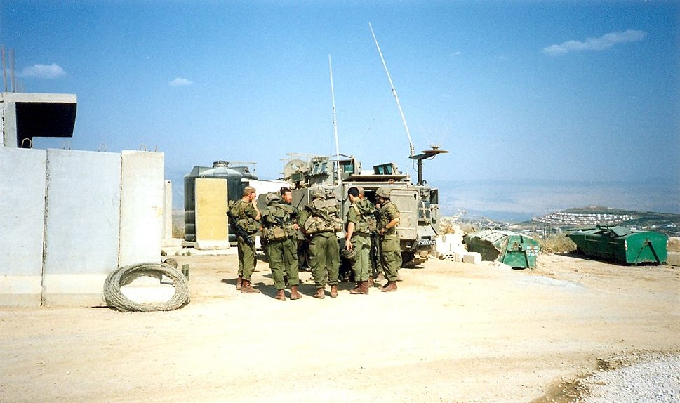 Galagalit IDF military patrol south lebanon