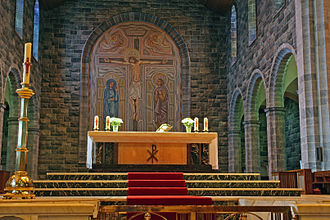 Cathedral of Our Lady Assumed into Heaven and St Nicholas, Galway - Image: Galwaycathedralinter ior 2