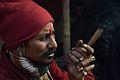 Ganja Smoking - Gangasagar Fair Transit Camp - Kolkata 2013-01-12 2640.JPG