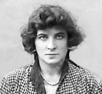 Ganna Walska - Passport photo of Ganna Walska (1920)