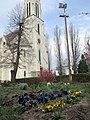 Garden-Mužla-church 2000.jpg