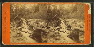 Joseph L. Bates - Garnet Pool near Glen House in New Hampshire