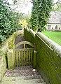 Gate to St Anne's Church, Carlecotes - geograph.org.uk - 1258549.jpg