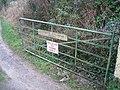 Gate to Ty Mawr - geograph.org.uk - 322836.jpg