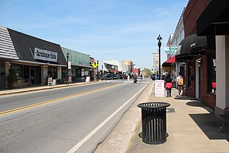 Fort Payne, Alabama - Gault Avenue in downtown Fort Payne