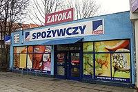 Gdańsk ulica Chopina 33b – sklep Zatoka.JPG