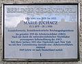 Gedenktafel Schmausstr 83 (Köpe) Marie Juchacz.jpg