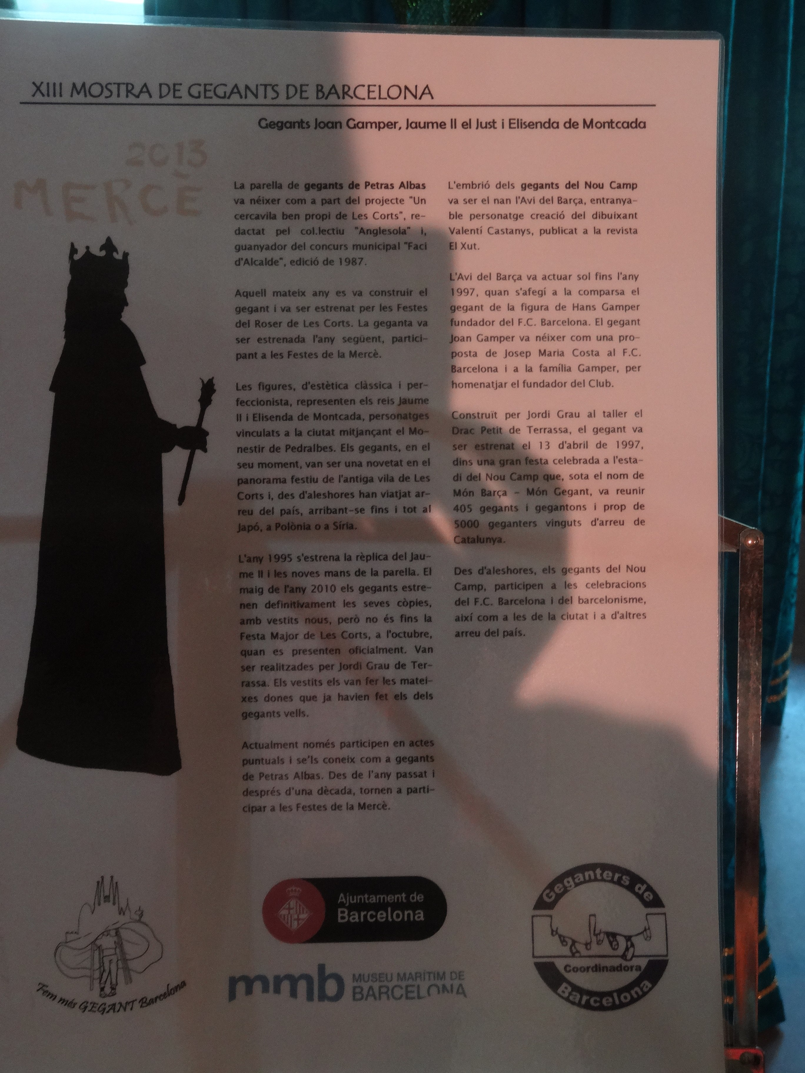Parti Di Una Barca file:gegants al museu marítim - 38 - gegants joan gamper