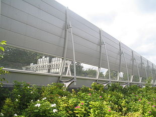 Noise barrier - Wikipedia
