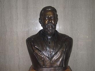 John Gregg (American politician) - Bust of John Gregg, Gregg County Courthouse, Longview, Texas