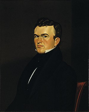 George Caleb Bingham - A self-portrait by George Caleb Bingham, painted 1834–35